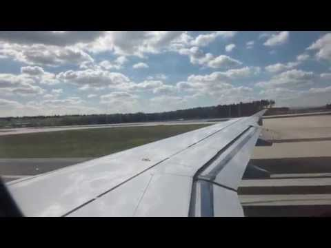 Lufthansa German Air Lines Frankfurt-Brussels Economy Class (A319-100) video report (Apr 2014)