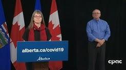 Alberta upgrade on COVID-19-- April 24, 2020