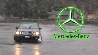 homepage tile video photo for Chow is already drifting his new Mercedes