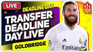 TRANSFER DEADLINE DAY GOLDBRIDGE! Man Utd News Now News