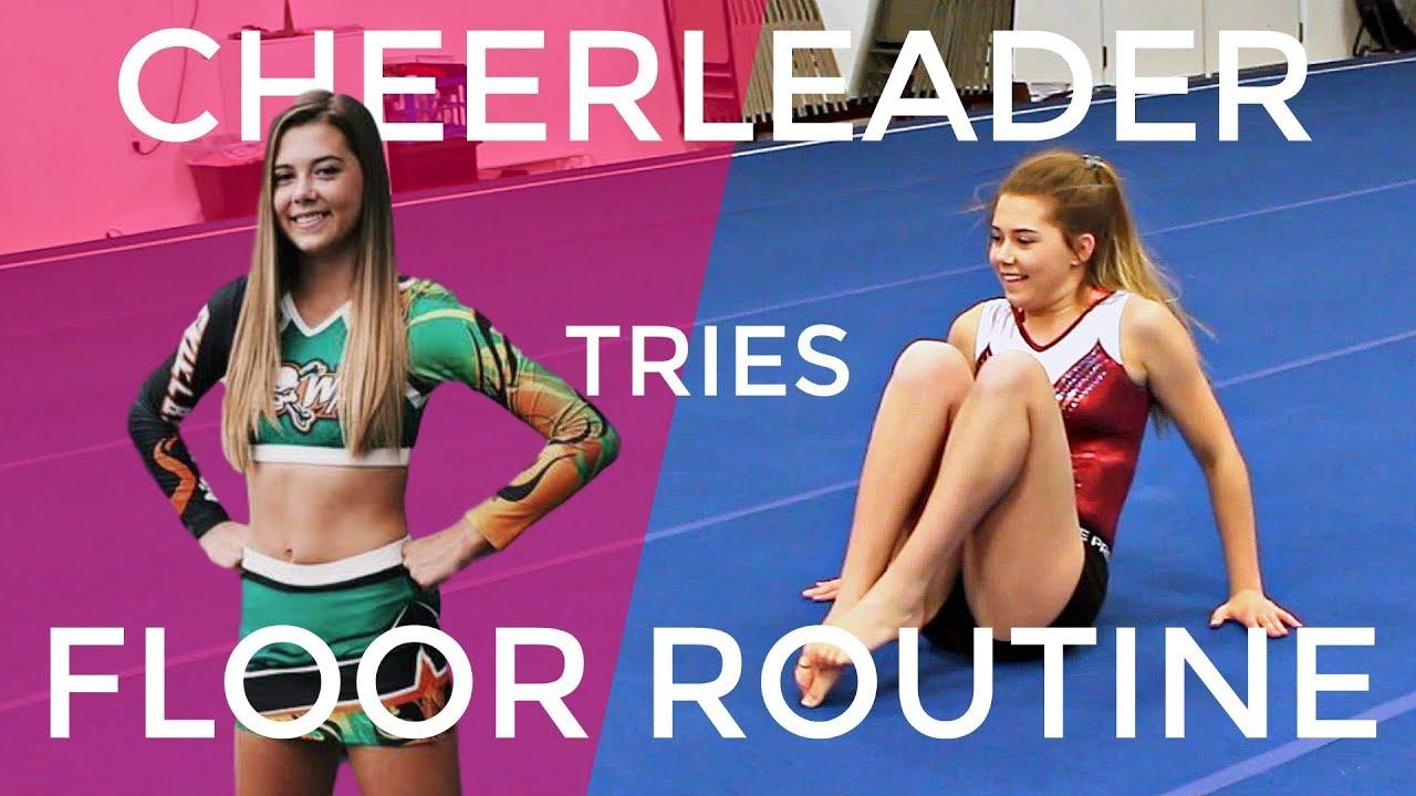 can-a-cheerleader-learn-a-gymnastics-floor-routine