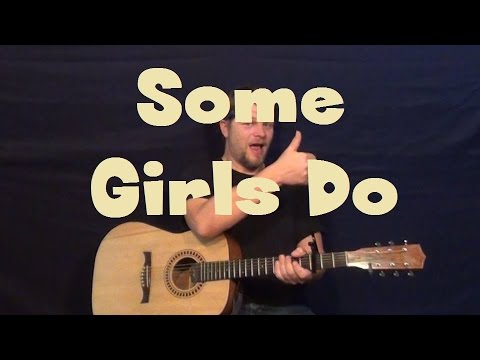 Some Girls Do (Sawyer Brown) Guitar Lesson Easy Strum Solo TAB How to Play Tutorial