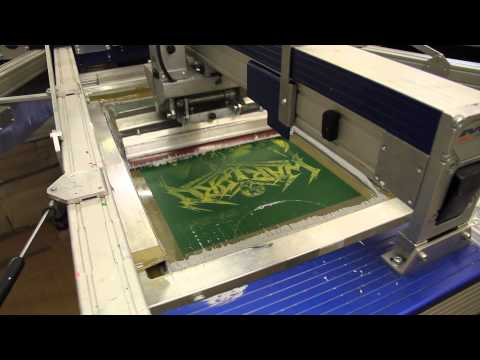 Screen Printing Band T-Shirt - How To - The EPCC