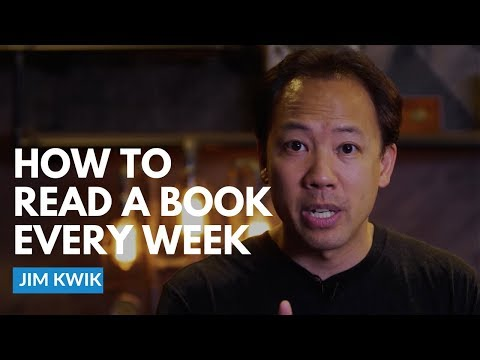 You Can Read A Book Every Week — Here Is How   Jim Kwik