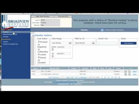 2 - Broadview Mortgage Pricing & Locking Your Loan