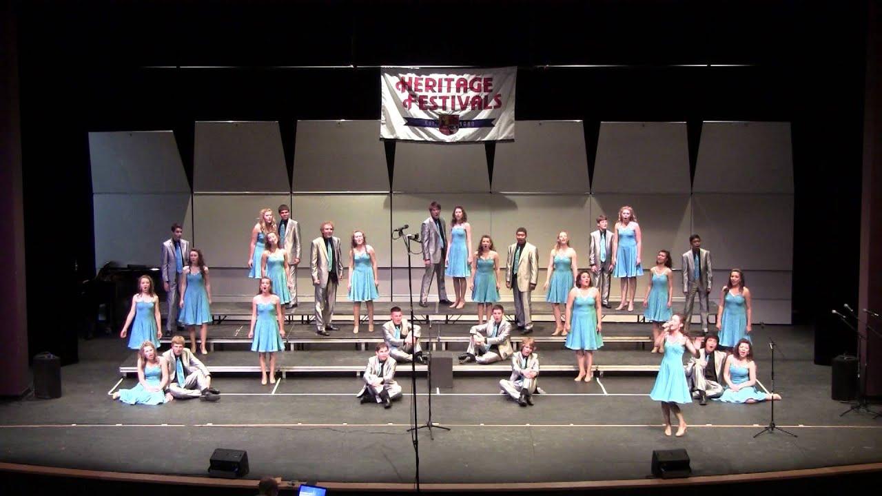 2012 La Cueva High School Main Street Show Choir   Heritage Festival