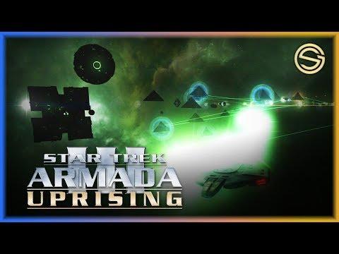 Fighting The Borg MENACE! | Star Trek Armada 3 | Multiplayer Fun