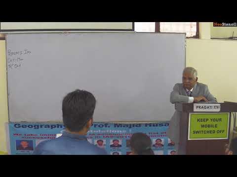 Prof. Majid Husain | Demo Video | UPSC | Geography Optional | NeoStencil