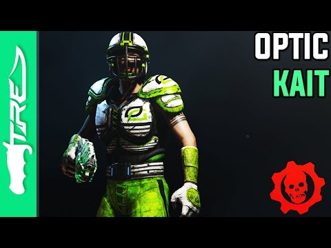 "Gears of War 4 Multiplayer Gameplay - ""OpTic Kait"" Character Gameplay (Gears of War 4 OpTic Gaming)"