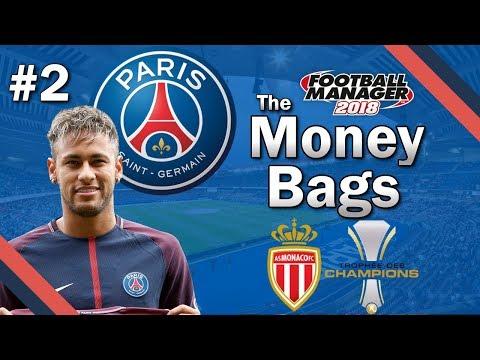 The Money Bags - SILVERWARE - Paris Saint Germain - Football Manager 2018 Lets Play - FM18 Beta