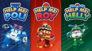 Help me! Rescue Team! | Robocar Poli Games