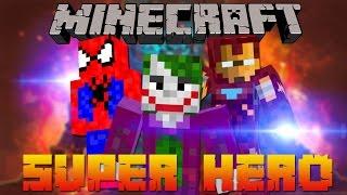 SUPERHERO DI MINECRAFT●SUPERHERO MOD - MODSHOWCASE #4