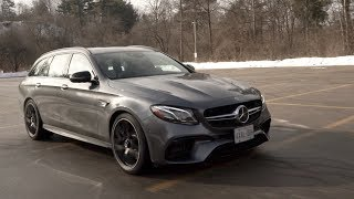 Globe Drive: Want supercar performance in a family hauler? AMG has the uber-wagon for you