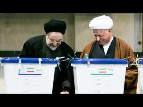 Mojtaba VAHEDI, مجتبي واحدي « خاتمي , رفسجاني , روحاني » نمايش انتخابات ؛