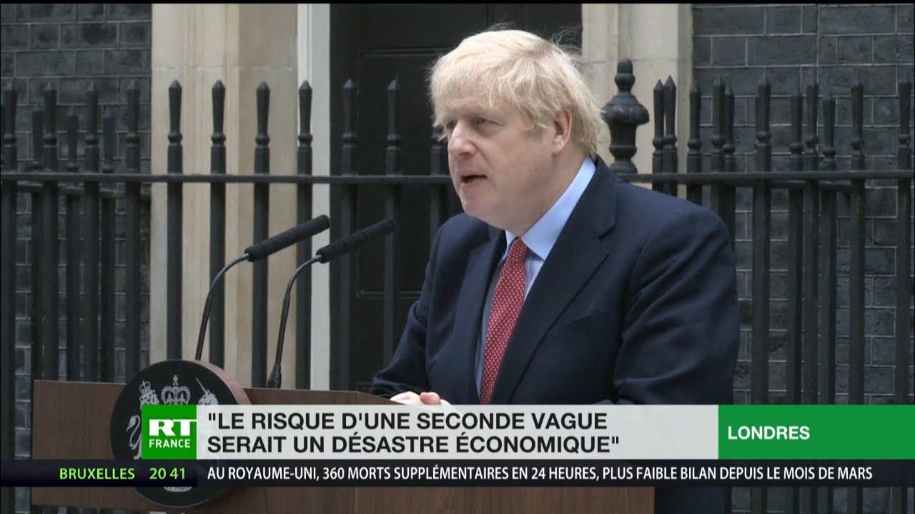 Boris Johnson de retour aux affaires : pas de déconfinement à l'ordre du jour au Royaume-Uni