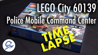 LEGO City 60139 Police Mobile Command Center time lapse