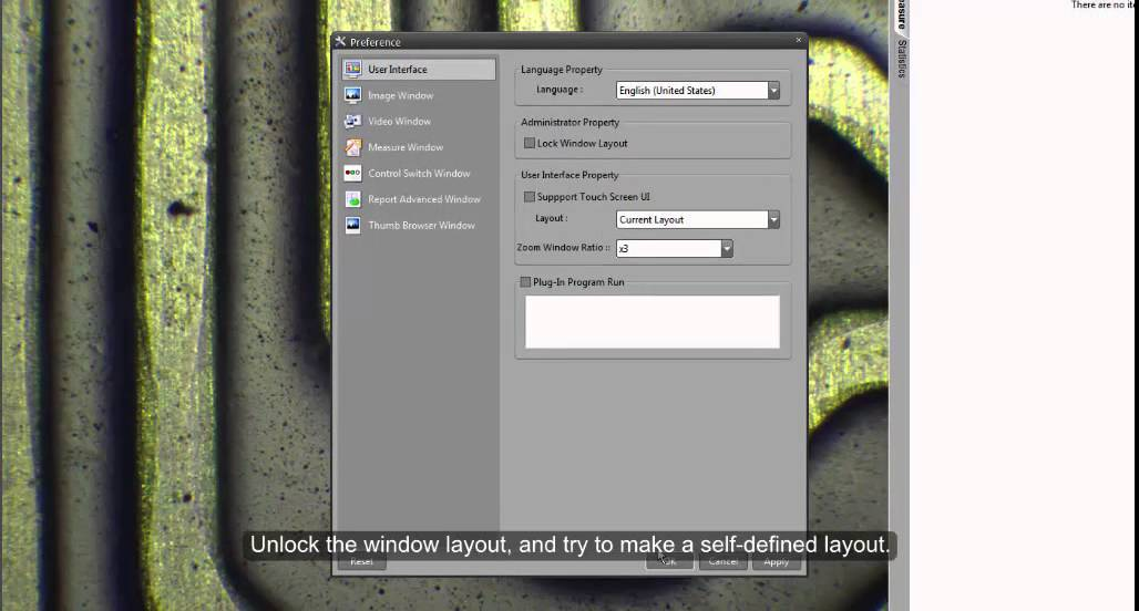 iWorks 2.0 Software Layout and User Interface