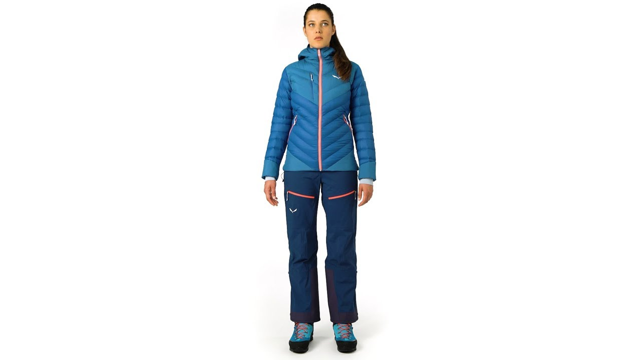 SALEWA Ortles Medium 2 TirolWool® Jacke Damen blue