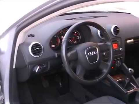 audi a3 sportback 2 0 tdi 140 cv dpf ambiente youtube. Black Bedroom Furniture Sets. Home Design Ideas