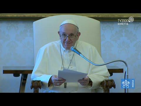 Papa Francesco, Udienza Generale del 5 agosto 2020