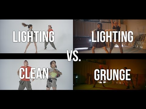 How to Light Clean Vs. Grunge in 2 Minutes