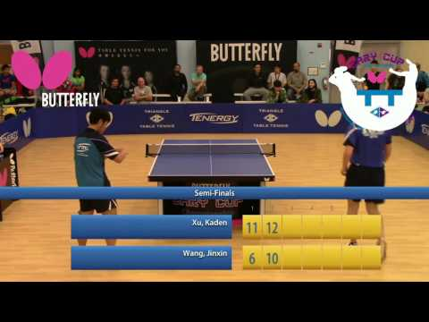 2017 Butterfly Cary Cup Championships - Open Singles Finals