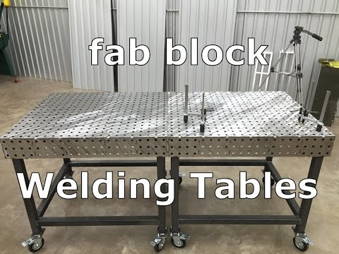 certiflat welding table. certiflat welding table
