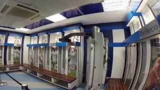 Svlačionica na stadionu Real Madrida Santiago Bernabeu