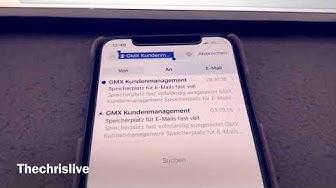 GMX / WEB Speicher voll - Lösung 2018