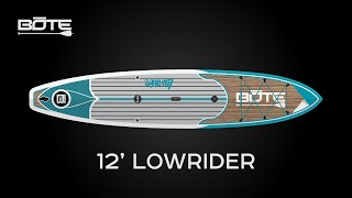 BOTE 2016 Lowrider Fitness Paddle Board