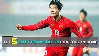 Chiêm ngưỡng những tuyệt phẩm khó tin của Công Phượng tại các ĐT Việt Nam | HAGL Media