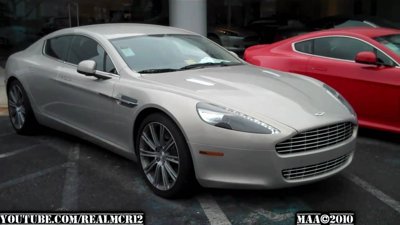 Aston Martin Rapide Coupe Youtube