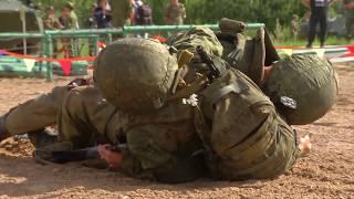 Выступления женских команд на «Военно-медицинской эстафете-2018»