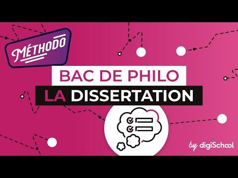Видео Dissertation de philosophie mthodologie