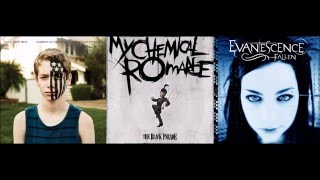 Fob/mcr/evanescence - Centuries/welcome To The Bla
