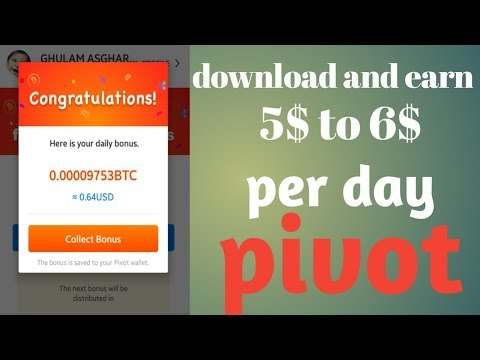 Pivot app|how to earn money from pivot app real earning method|how to tips