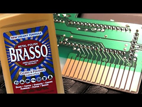 How to Clean Nintendo NES Games With Brasso