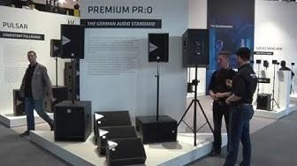 Musikmesse 2016 HK Audio Premium Pro PA Lautsprecher Prolight+Sound (deutsch)