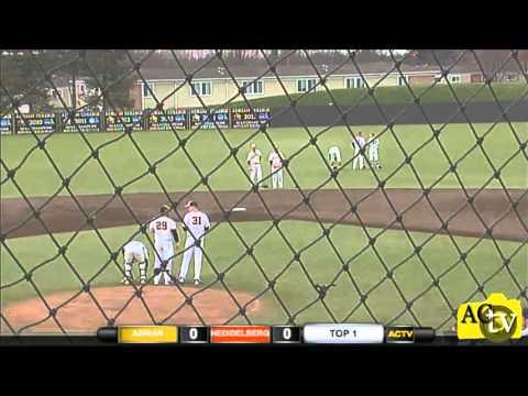 3/30/16 Adrian College Baseball vs Heidelberg University