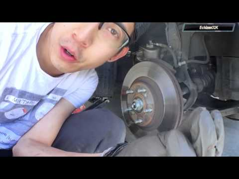 Log 25 - 2005 Acura TSX Brakes:  Rotors and Pads Replacement