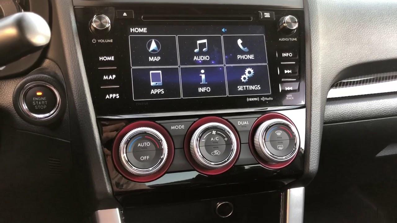 2016+ Subaru STi Nav Hack