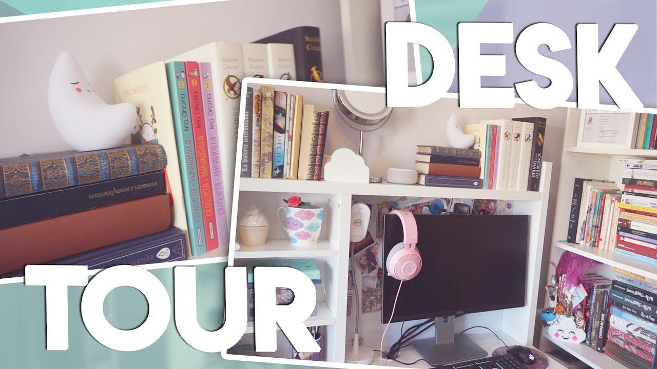 Tour por mi escritorio 2020 (Desk Tour) ✨📚 Nube de Palabras