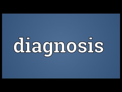 Diagnosis Meaning