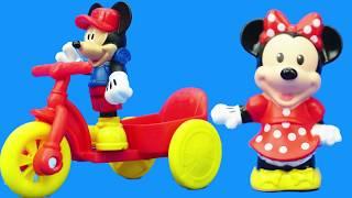 米老鼠和米妮睡覺過家家,米奇妙妙屋的兒童玩具
