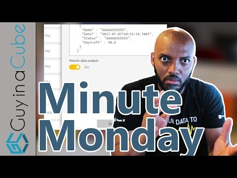 Reset A Streaming Dataset In Power BI (Minute Monday)