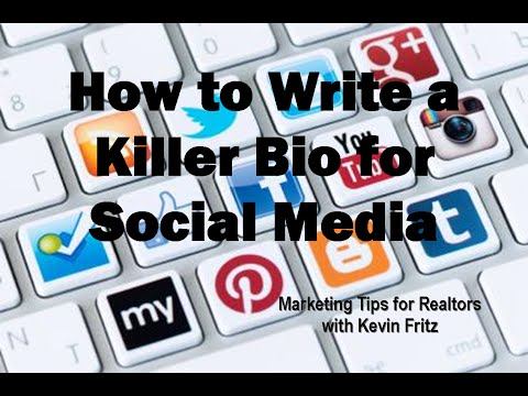 How to Write a Killer Bio for Social Media