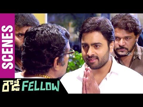Rowdy Fellow Telugu Movie Scenes | Nara Rohit Hammers Rao Ramesh | Vishakha Singh | Sunny MR