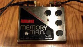 Electro Harmonix Deluxe Memory Man Reissue