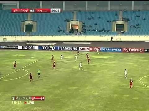 Uzbekistan vs Syria - 2012 Olympics Asian Qualifiers - Playoff Round