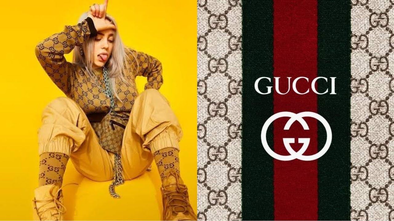 Billie Eilish Usando Gucci Compilation Gucci Outfits Youtube